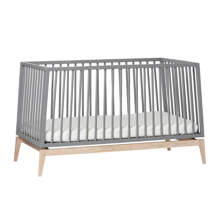 Picture of Leander® Luna™ Baby Bed wo. mattress 140x70 cm Grey/Oak