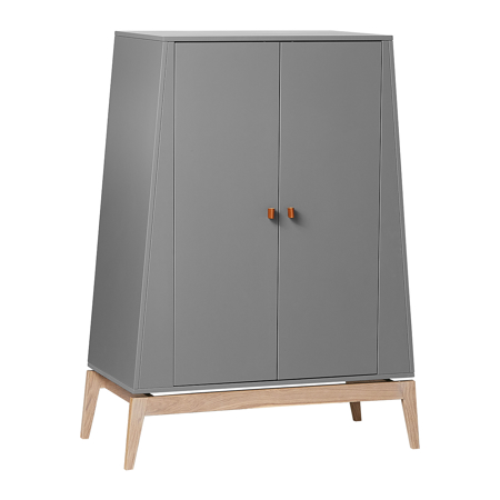 Picture of Leander® Luna™ Wardrobe Small Grey/Oak