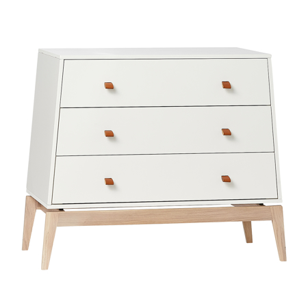 Picture of Leander® Luna™ Dresser, White/Oak