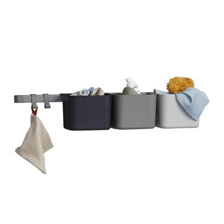 Picture of Leander® Organizers 3 Pcs.  & 1 Pcs. Rack Long Dusty Grey