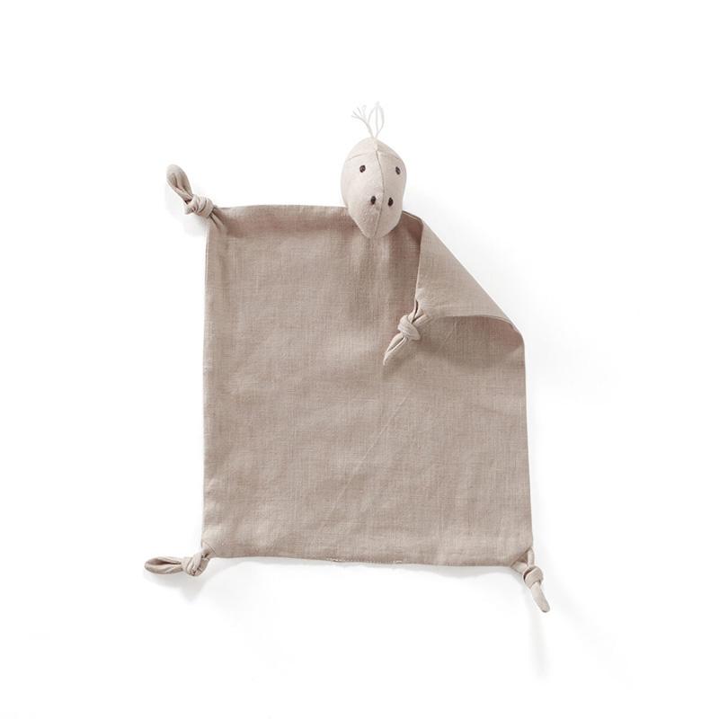 Picture of Kids Concept® Dino blanket Dino linen Beige
