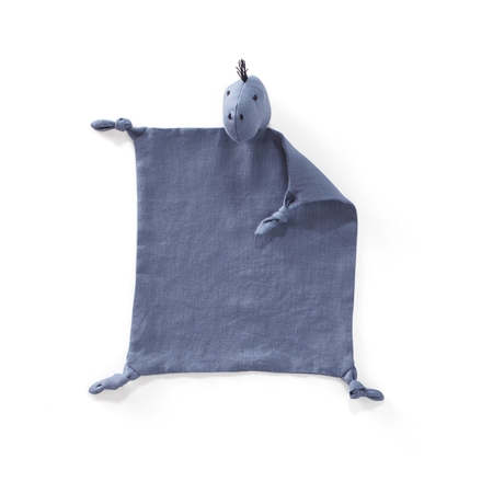 Picture of Kids Concept® Dino blanket Dino linen Blue