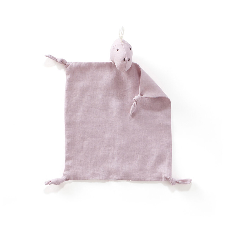 Picture of Kids Concept® Dino blanket Dino linen Pink