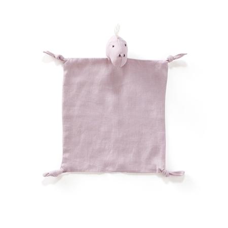 Kids Concept® Dino blanket Dino linen Pink