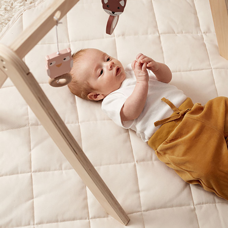 Picture of Kids Concept® Play mat natural White