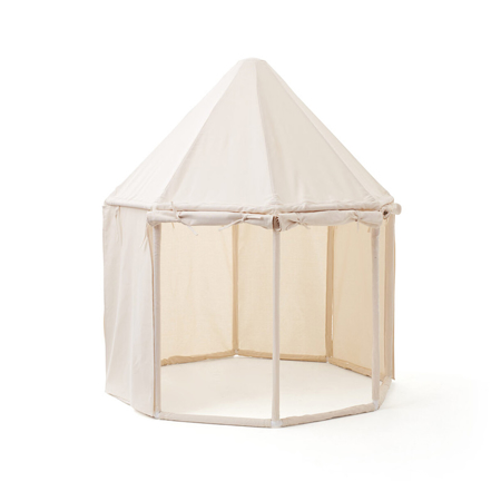 Picture of Kids Concept® Pavilion Tent Natural White