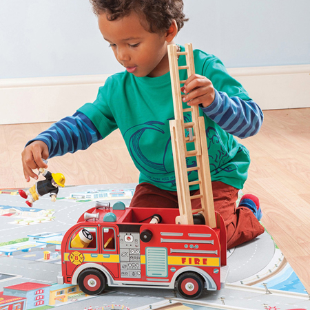 Picture of Le Toy Van® Wooden Fire Engine