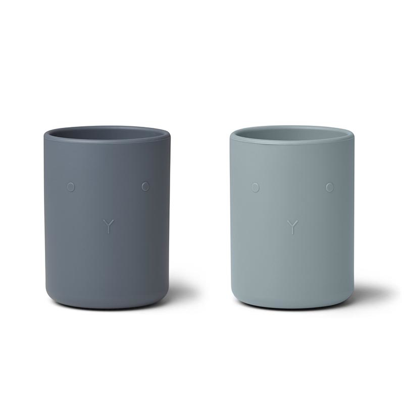 Picture of Liewood® Ethan Cup 2 Pack - Blue mix