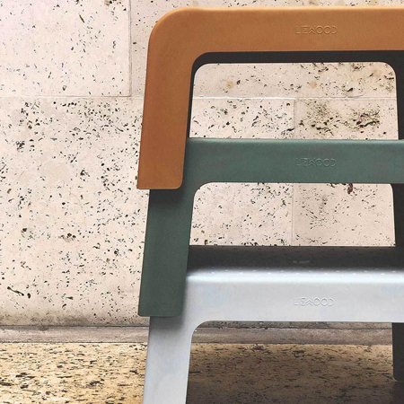 Liewood® Ulla Step Stool - Dumbo grey