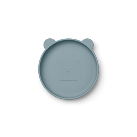 Picture of Liewood® Olivia Plate 2 Pack - Blue mix