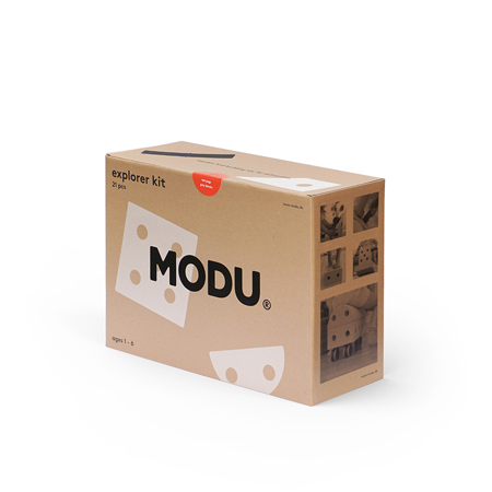 Picture of Modu® Explorer Set Red