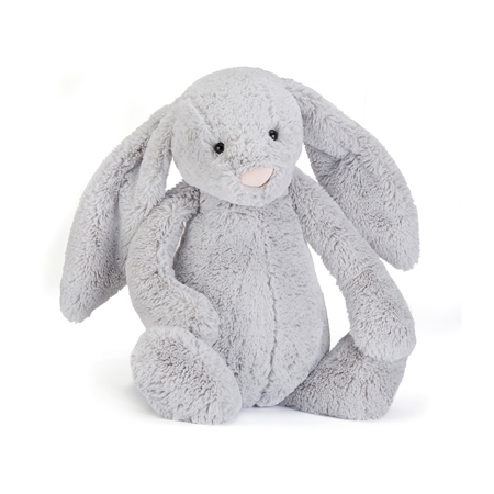 Picture of Jellycat® Soft Toy Bashful Silver Bunny Large 36cm
