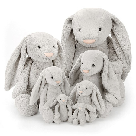 Picture of Jellycat® Soft Toy Bashful Silver Bunny Medium 31cm