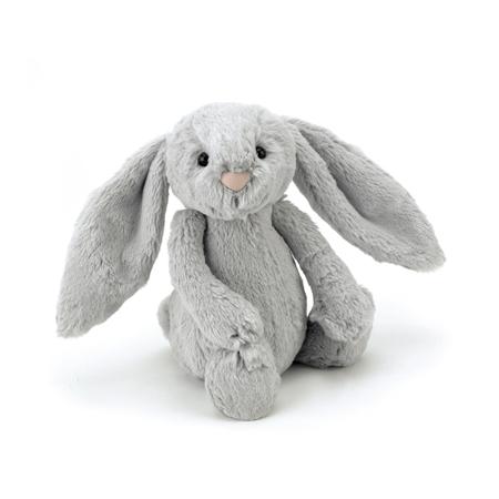 Jellycat® Soft Toy Bashful Silver Bunny Medium 31cm