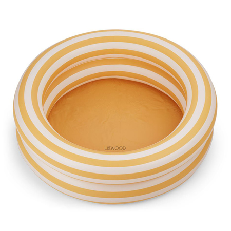 Picture of Liewood® Leonore Pool - Stripe: Yellow mellow/creme de la creme