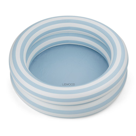 Picture of Liewood® Leonore Pool - Stripe Sea Blue/Creme