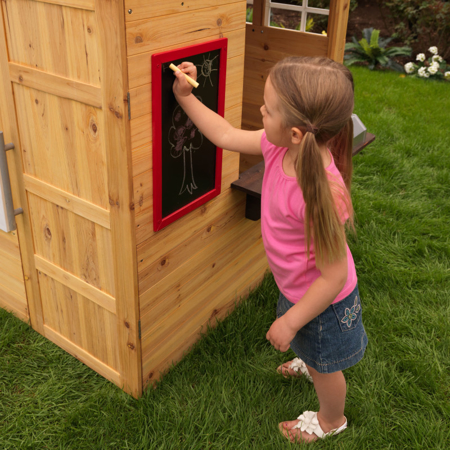 Picture of KidKratft® Modern outdoor playhouse