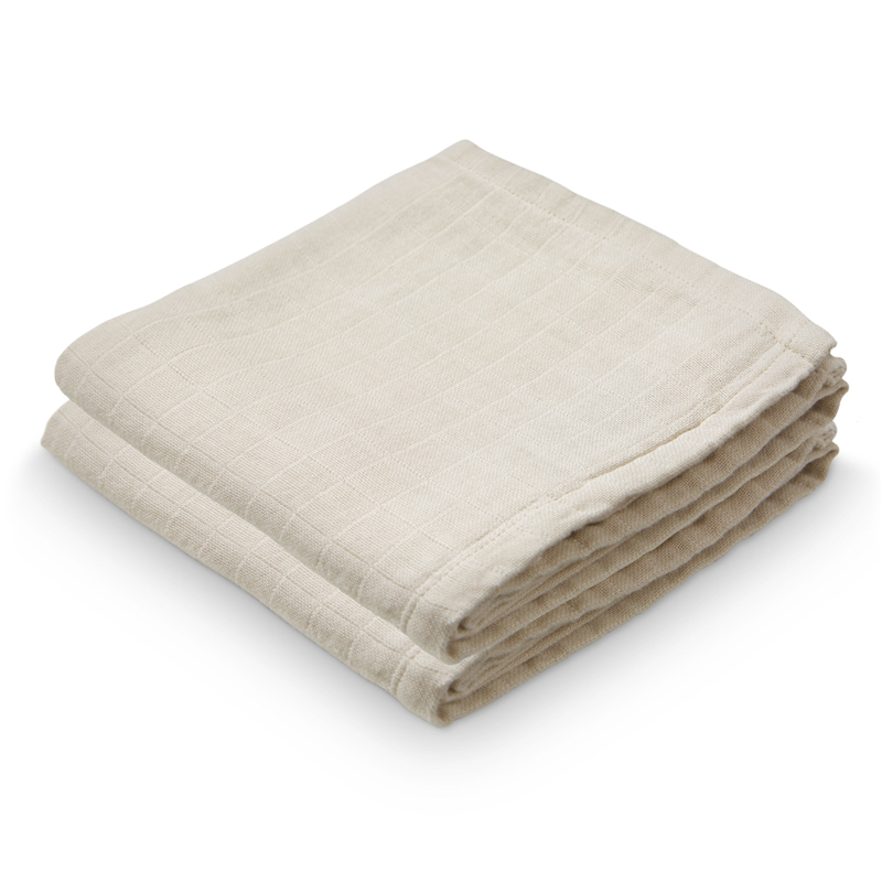 Picture of CamCam® Musling Cloth Light Sand 2pack (70x70)