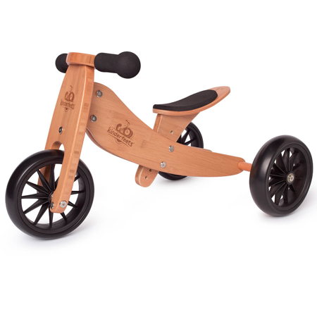 Picture of Kinderfeets® Tinytot Balance Bike 2in1 Bamboo