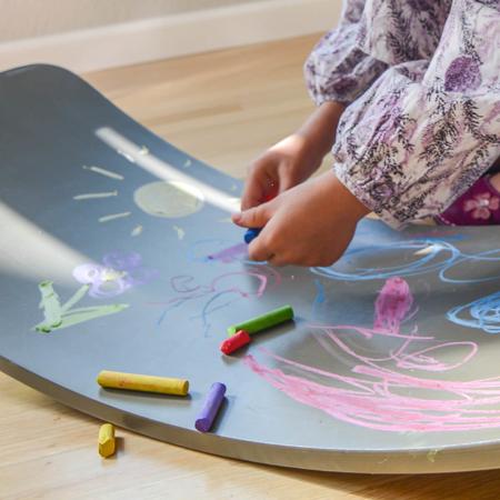 Picture of Kinderfeets® Kinderboard Chalkboard Gray