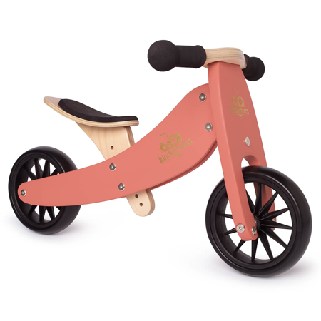Kinderfeets® Tinytot Balance Bike 2in1 Coral