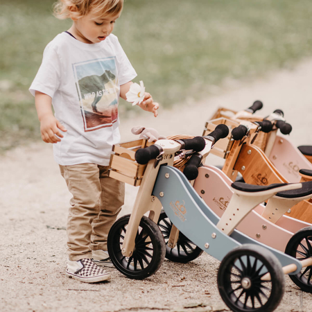 Picture of Kinderfeets® Balance Bike Tiny Tot Plus 2in1 Silver Sage