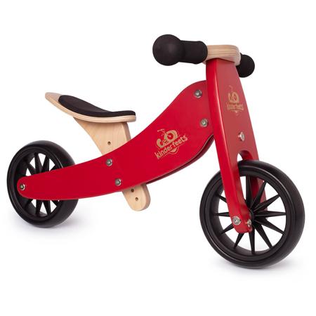 Kinderfeets® Tinytot Balance Bike 2in1 Cherry Red