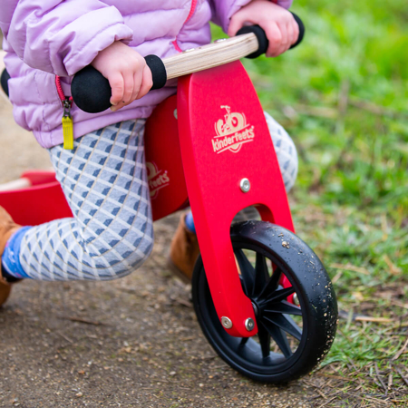 Picture of Kinderfeets® Tinytot Balance Bike 2in1 Cherry Red