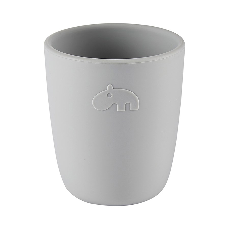 Picture of Done by Deer®  Silicone mini mug Deer Friends Grey