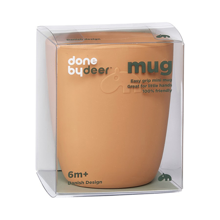 Done by Deer®  Silicone mini mug Deer Friends Mustard