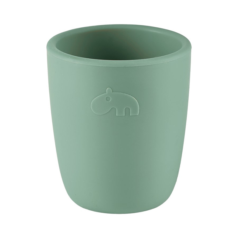 Picture of Done by Deer®  Silicone mini mug Deer Friends Green
