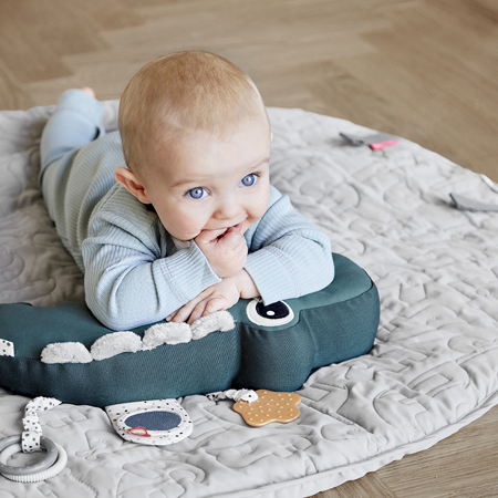 Picture of Done by Deer® Round play mat Sleepy Grey