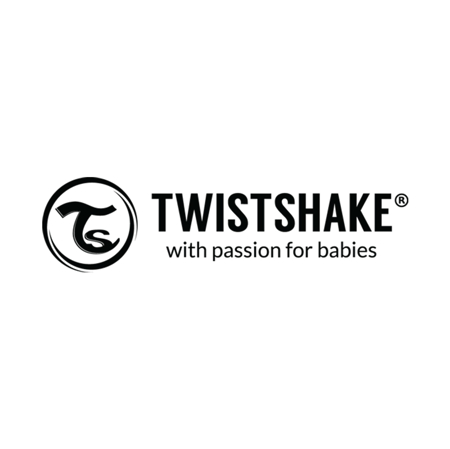 Picture of Twistshake 2x Pacifier Grey&White (0+/6+)  - 0-6 M