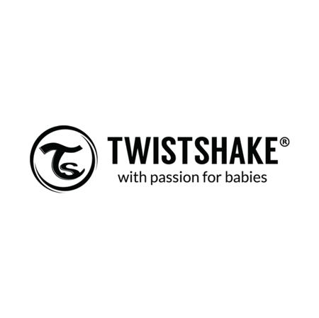 Twistshake 2x Bib Black&White (4+M)