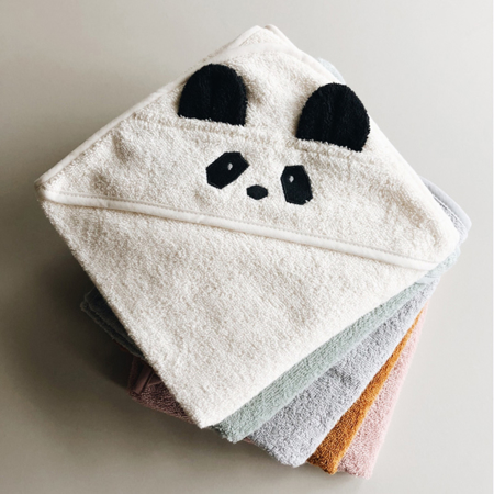 Liewood® Hooded Baby Towel - Polar Bear Sandy