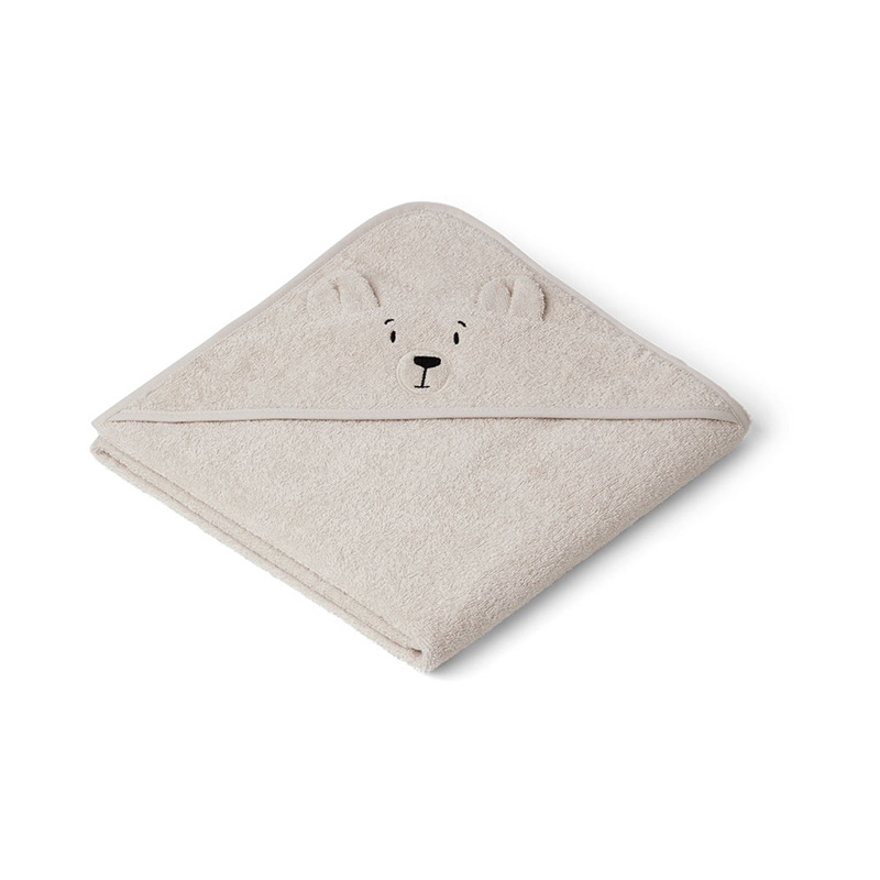 Picture of Liewood® Hooded Towel -  Polar Bear Sandy 100x100