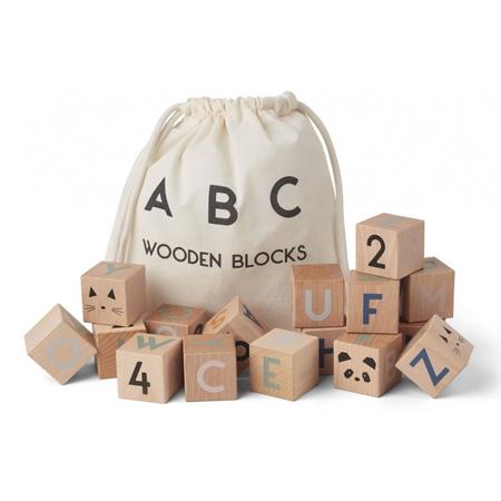 Liewood®  Lars wooden blocks