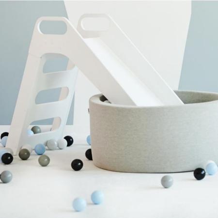 Misioo® Slide White Wood