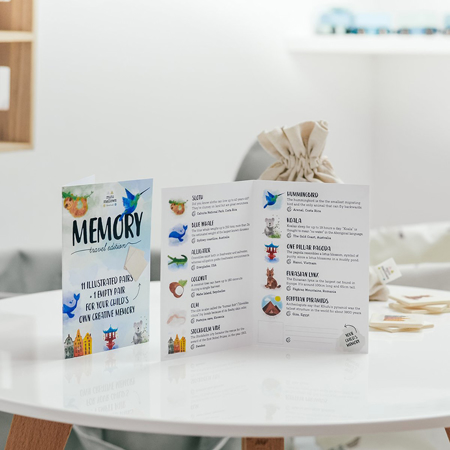 Picture of Minimellows® Wooden Memory game