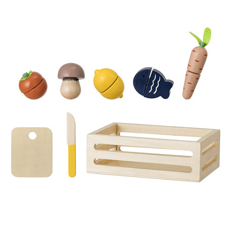 Bloomingville® Play Set Food Nature