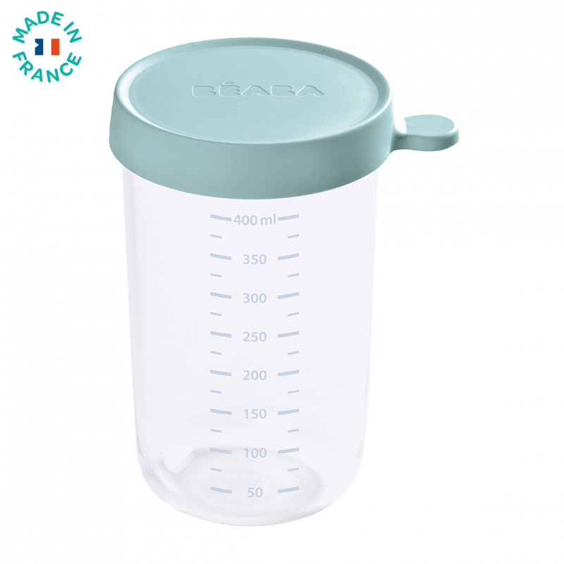 Picture of Beaba®  Glass&Silicone Container 400ml Blue