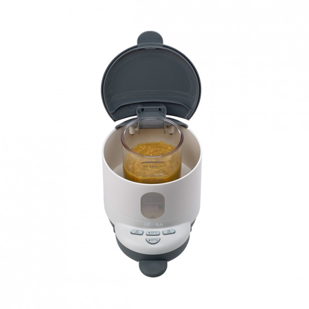 Picture of Beaba® Bib'expresso Steril White/Grey : 3-in-1 baby bottle processor