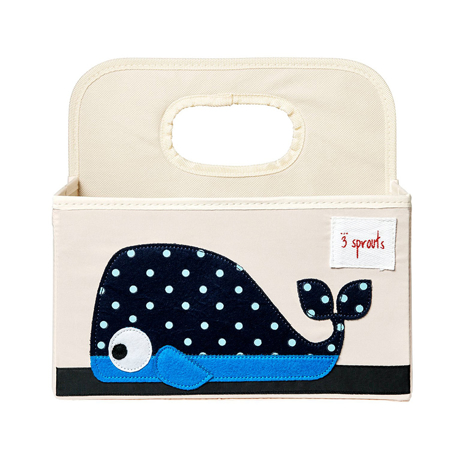 Picture of 3Sprouts® Diaper Caddy Whale