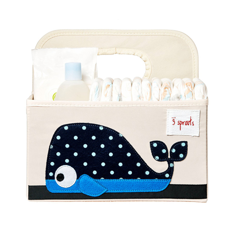 3Sprouts® Diaper Caddy Whale