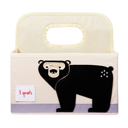 Picture of 3Sprouts® Diaper Caddy Bear