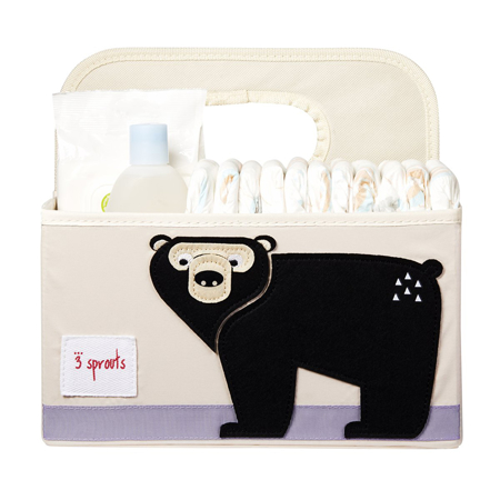 3Sprouts® Diaper Caddy Bear