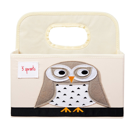 Picture of 3Sprouts® Diaper Caddy Owl