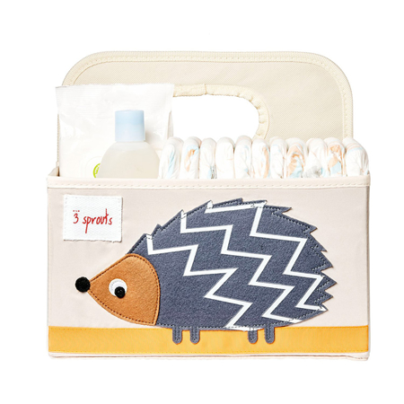 3Sprouts® Diaper Caddy Hedgehog