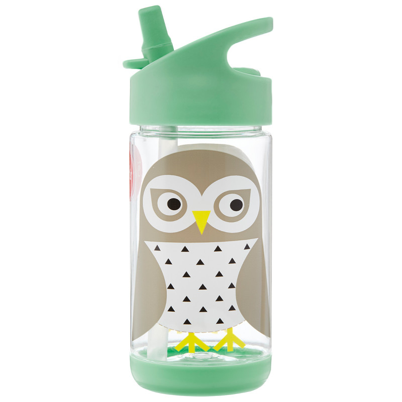 Picture of 3Sprouts® Water Bottle Owl