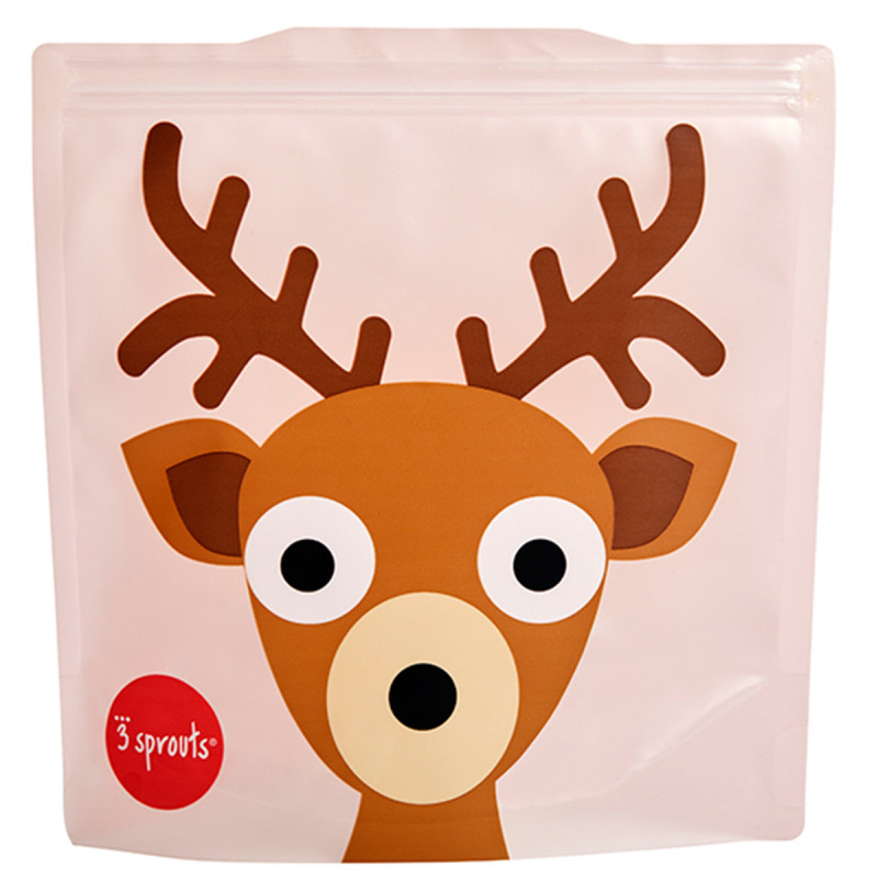 Picture of 3Sprouts® Sandwich Bag (2 pack) Deer